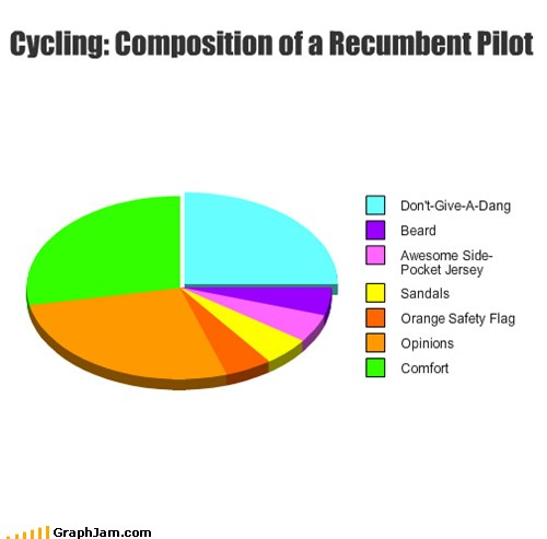 Pie Chart: Composition of a Recumbent Pilot