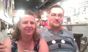 Dave and Diane at the Comfy Cow
