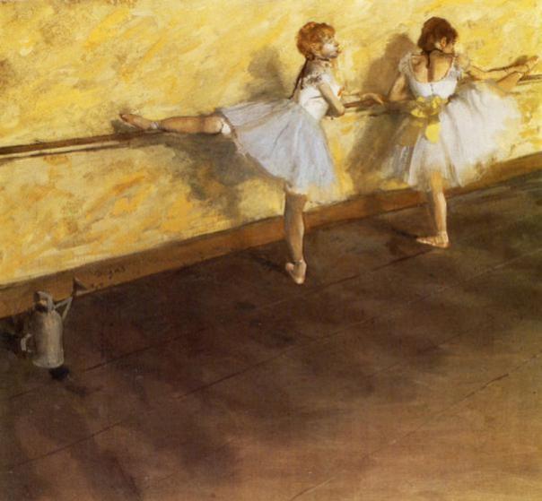 Henri_Rouart_Ballet_class-1875